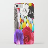 okay iPhone & iPod Cases featuring okay... by Aldo Couture