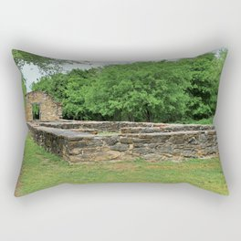 At the Mission II Rectangular Pillow
