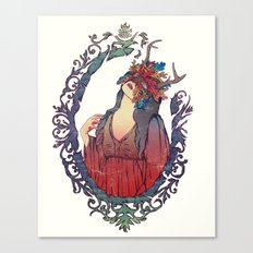 A Máscara Canvas Print