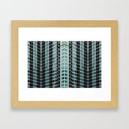 Vertical residential Framed Art Print