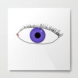 Eye doodle Metal Print