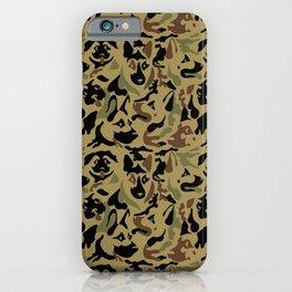 German Shepherd Camouflage iPhone Case