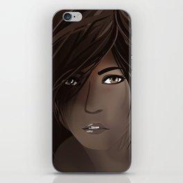 Brown Shading iPhone Skin