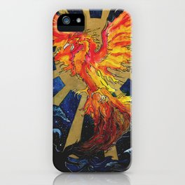 Rise From The Ashes iPhone Case