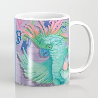 coco Mugs featuring Coco by Sarah Underwood Illustration