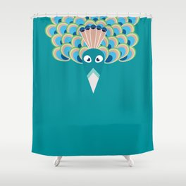Paon Shower Curtain