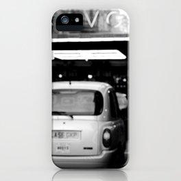 London Savoy hotel iPhone Case