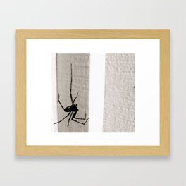 Dangling Framed Art Print