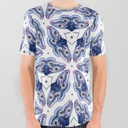 Emperor Moth All Over Graphic Tee