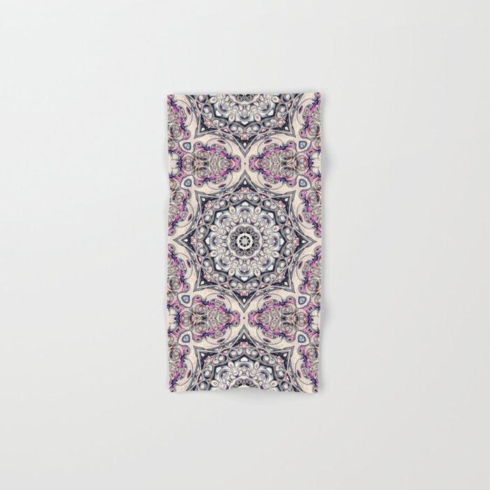 Abstract Octagonal Mandala Hand & Bath Towel