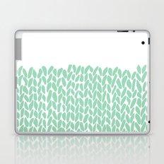 Half Knit Mint Laptop & iPad Skin