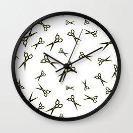 Stylist scissors  Wall Clock