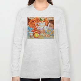 Lilies and Lace Long Sleeve T-shirt