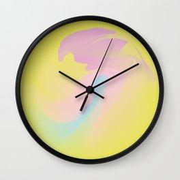 Sunny gold Wall Clock