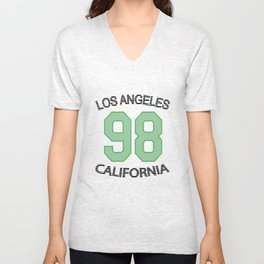 Los Angeles 98 California Unisex V-Neck