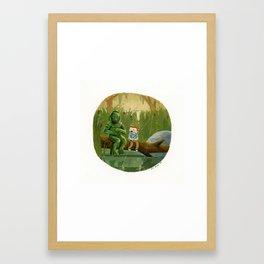 Swamp Monster  Framed Art Print