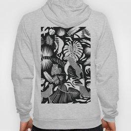 Surreal Wildlife / Black and White Hoody