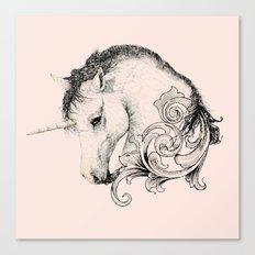Classic Unicorn Canvas Print