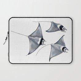 Devil fish Manta ray Mobula mobular Laptop Sleeve