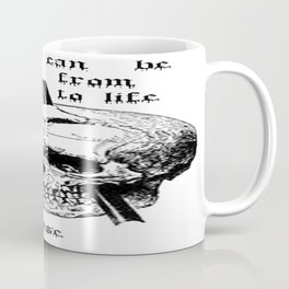 Driving A Long Nail Through The Skull Of A Corpse  Coffee Mug