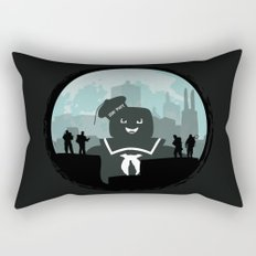 Ghostbusters versus the Stay Puft Marshmallow Man Rectangular Pillow