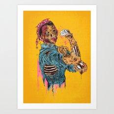 A Rosie Life Art Print
