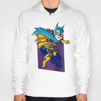 batgirl Hoodies featuring Batgirl! by neicosta