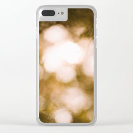 Dreamy Forest Light Clear iPhone Case