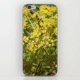 Yellow Spray iPhone Skin