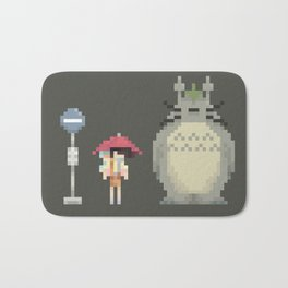Neighbors in The Rain Bath Mat