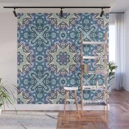 winter mandala pattern Wall Mural