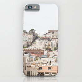 Top of a San Francisco Hill - San Francisco Photography iPhone Case