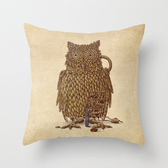 Tune-Up  Throw Pillow