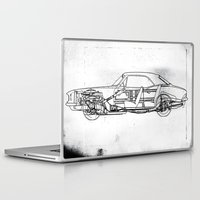 muscle Laptop & iPad Skins featuring Muscle Car by Fernando Vieira