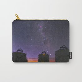 Violet Sky Carry-All Pouch