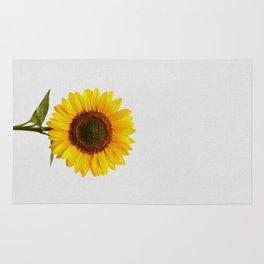 Sunflower Still Life Rug