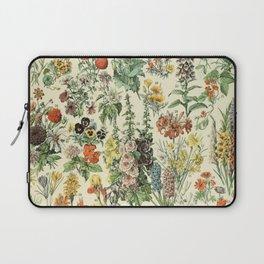 Adolphe Millot Vintage Fleurs Flower 1909 Laptop Sleeve