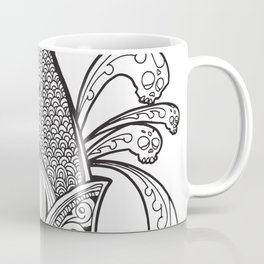 Cincalco art from the exican underworld. Coffee Mug