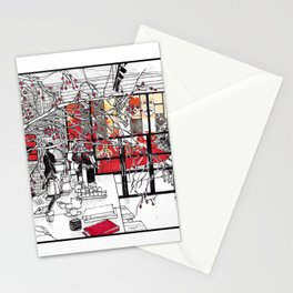 A Coffee Stationery Cards