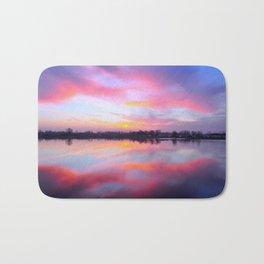 Sunset Lake Bath Mat