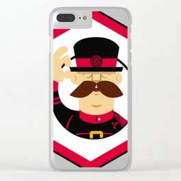 YeoMan Developer sticker Clear iPhone Case