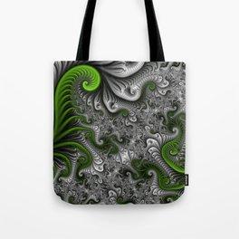 Fantasy World, abstract Fractal Art Tote Bag
