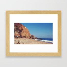 Point Mugu Malibu Framed Art Print