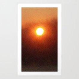 Sun Bath Art Print