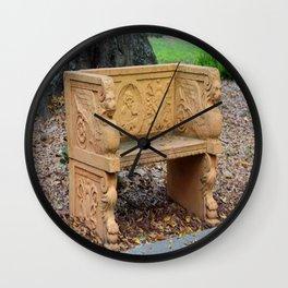 Secret Words Wall Clock