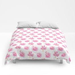 Rose Pop Pattern Comforters