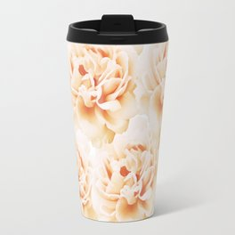 Peonies Travel Mug