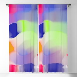 tubular blobs Blackout Curtain