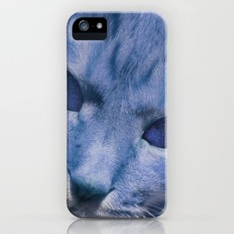 Space Cat's Eye iPhone Case