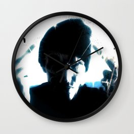 DUSTIN WHITE - theDarkArts Wall Clock
